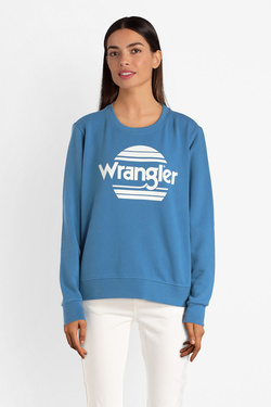 Sweat-shirt WRANGLER W6086HA Bleu