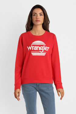 Sweat-shirt WRANGLER W6086HA Rouge