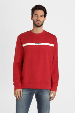 Sweat-shirt WRANGLER W6A5HYX Rouge