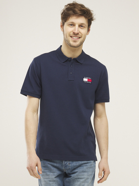 Polo TOMMY JEANS TOMMY BADGE Bleu marine