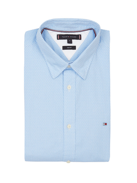 Chemise manches longues TOMMY HILFIGER MW0MW12173 Blanc