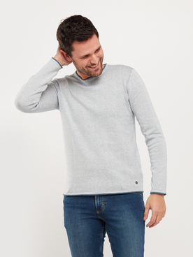 Pull MUSTANG EMIL DOUBLE Gris