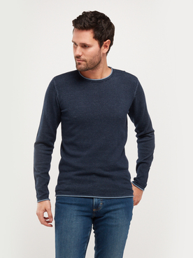 Pull MUSTANG EMIL DOUBLE Bleu marine
