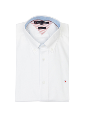 Chemise manches longues TOMMY HILFIGER MW0MW12200 Blanc