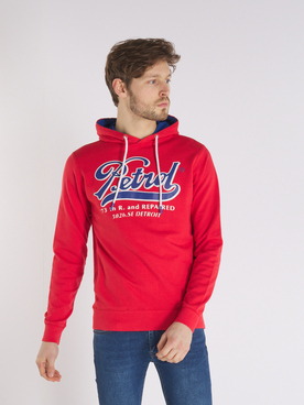 Sweat-shirt PETROL INDUSTRIES SWH 301 P Rouge