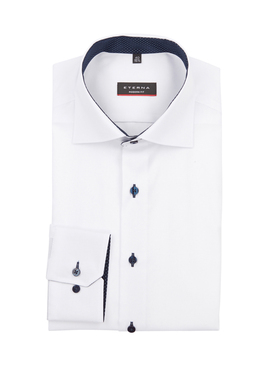 Chemise manches longues ETERNA X13K 8100 Blanc