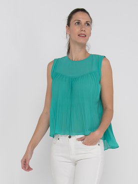 Tee-shirt MOLLY BRACKEN LA372BE20 Vert