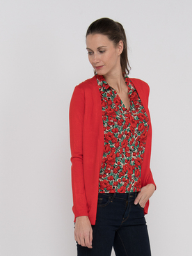 Gilet MOLLY BRACKEN E951BP20 Rouge