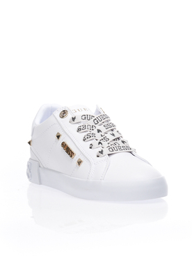 Chaussures GUESS FL5PUX LEA12 Blanc