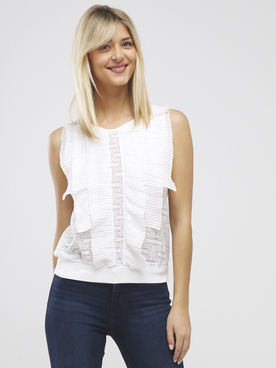 Tee-shirt MOLLY BRACKEN R1476E20 Blanc