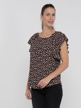 Blouse MOLLY BRACKEN LA381P20 Noir