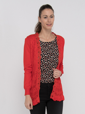Gilet MOLLY BRACKEN E950P20 Rouge