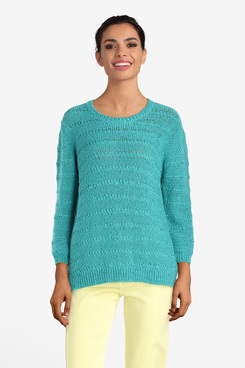 Pull DIANE LAURY 55DL2PU800 Bleu turquoise