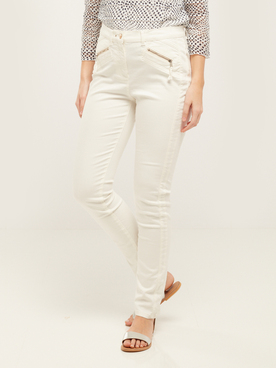 Pantalon JULIE GUERLANDE 55JG2PS000 Ecru