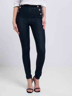 Jean GUESS W01A56D2QU1 ULTRA CURVE HIGH B Bleu