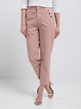 Pantalon GUESS W01B84WCPT1 HOPE CHINO BUTTON Rose