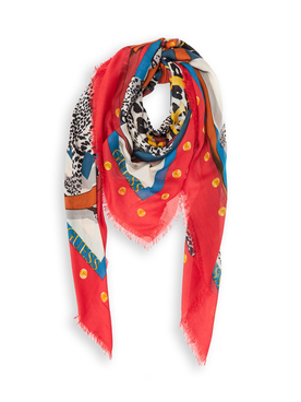 Foulard GUESS AW8380 VIS03 Rouge