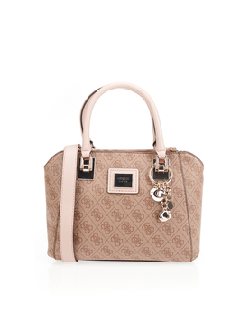 Sac GUESS CANDACE SOCIETY SATCHEL Marron