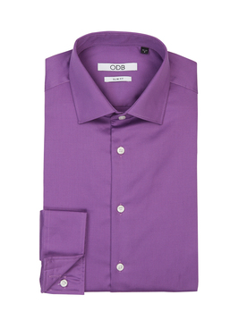 Chemise manches longues ODB 53OD1CV900 Violet