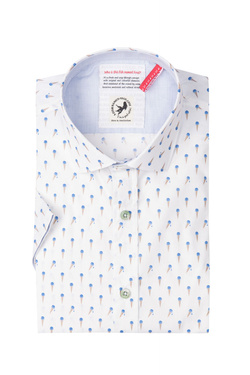 Chemise manches courtes A FISH NAMED FRED 81.080 Blanc