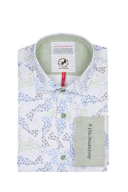 Chemise manches longues A FISH NAMED FRED 9102020 Blanc