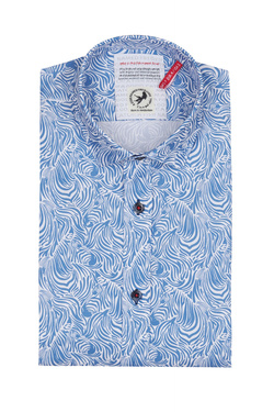 Chemise manches courtes A FISH NAMED FRED 9103071 Bleu