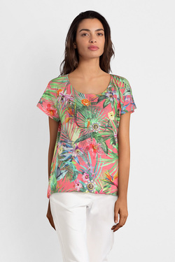 Tee-shirt BETTY BARCLAY 4720 0748 Rose