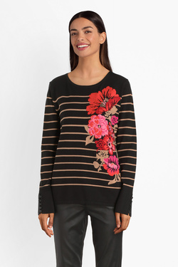 Pull BETTY BARCLAY 6615 0413 Noir