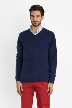 Pull CAMBRIDGE LEGEND 46CG1PU000 Bleu noir