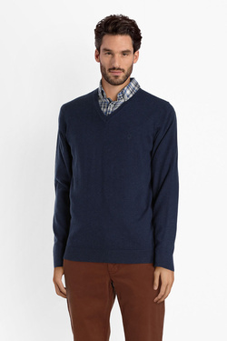 Pull CAMBRIDGE LEGEND 52CG1PU001 Bleu marine