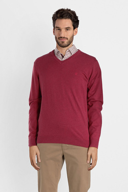 Pull CAMBRIDGE LEGEND 52CG1PU001 Rouge foncé