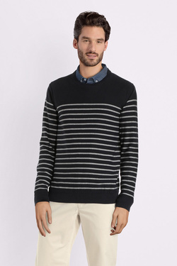 Pull CAMBRIDGE LEGEND 53CG1PU101 Bleu marine