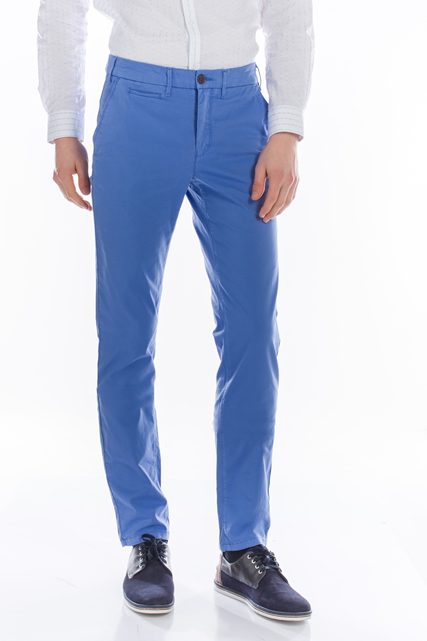 Pantalon chino en coton stretch CAMBRIDGE LEGEND