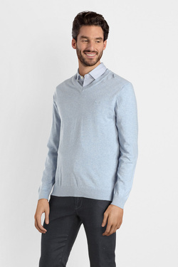 Pull CAMBRIDGE LEGEND 53CG1PU000 Bleu ciel
