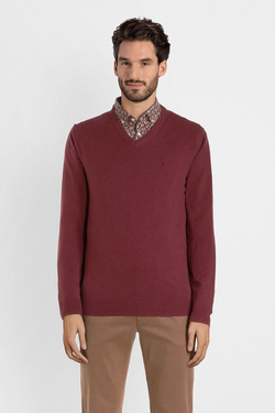 Pull CAMBRIDGE LEGEND 54CG1PU001 Rouge bordeaux