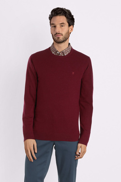 Pull CAMBRIDGE LEGEND 54CG1PU002 Rouge bordeaux