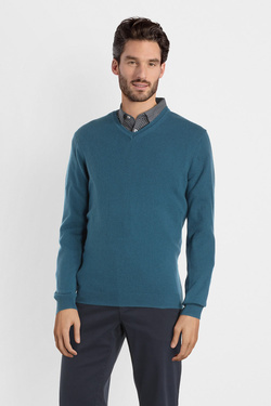 Pull CAMBRIDGE LEGEND 54CG1PU000 Bleu turquoise