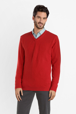 Pull CAMBRIDGE LEGEND 54CG1PU000 Rouge