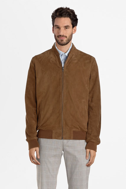 Blouson 100% cuir de chèvre CAMBRIDGE LEGEND