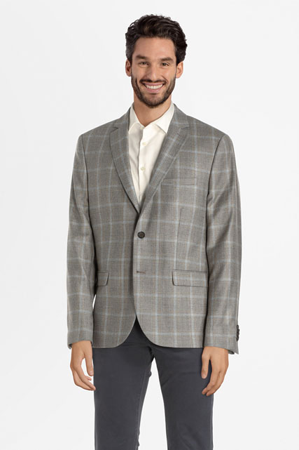 Veste boutonnée en 100% laine CAMBRIDGE LEGEND