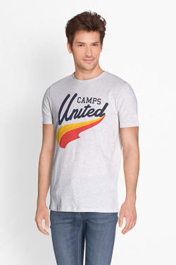 Tee-shirt CAMPS UNITED 51CP1TS117 Gris