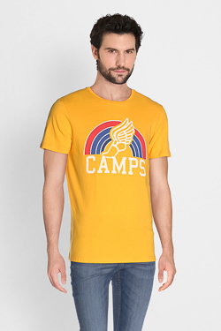 Tee-shirt CAMPS UNITED 51CP1TS119 Jaune