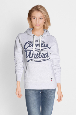 Sweat-shirt CAMPS UNITED 51CP2SW306 Gris clair
