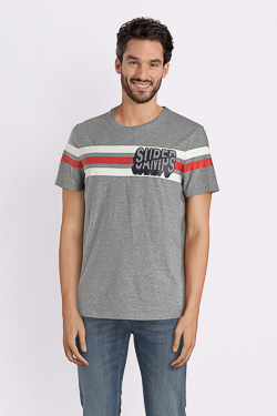 Tee-shirt CAMPS UNITED 52CP1TS108 Gris
