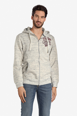 Sweat-shirt CAMPS UNITED 52CP1SW115 Gris clair