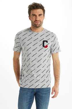 Tee-shirt CAMPS UNITED 53CP1TS100 Gris