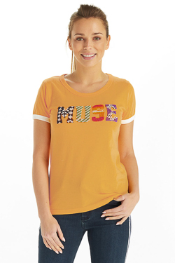 Tee-shirt CAMPS UNITED 53CP2TS302 Jaune
