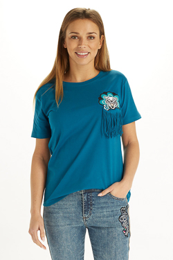 Tee-shirt CAMPS UNITED 53CP2TS305 Bleu