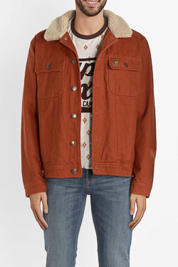 Blouson CAMPS UNITED 54CP1VE102 Marron