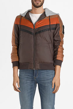 Blouson CAMPS UNITED 54CP1PB104 Marron